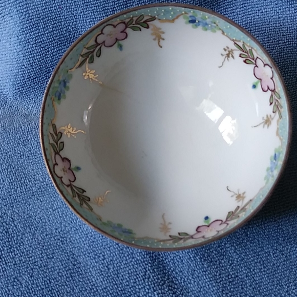 Nippon Hand painted Other - Vintage NIPPON Handpainted floral bowl